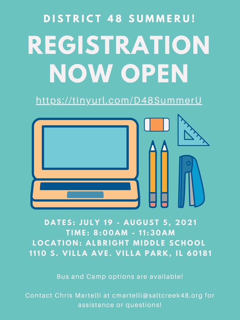 SummerU Registration Flyer