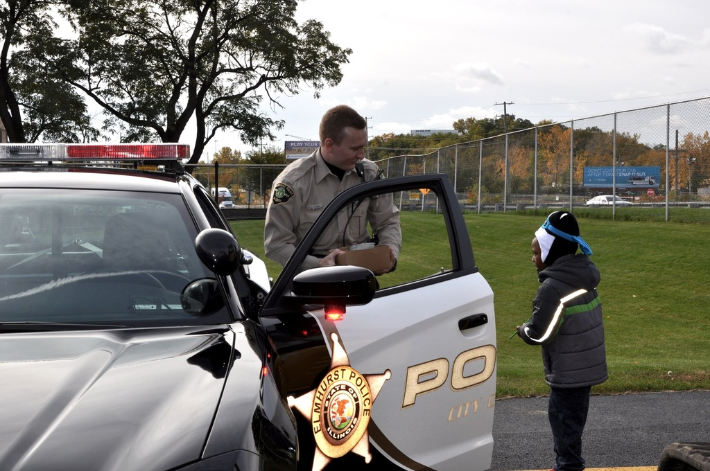 """Touch a Truck"" and community helpers."