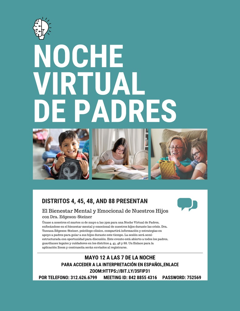 Virtual Parent Night Flyer (Spanish)