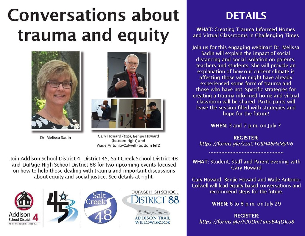 Trauma-Informed Practices and Equity Flyer